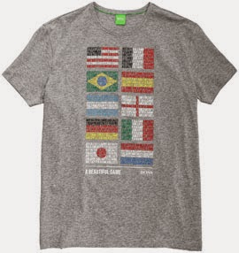 camiseta mundial Hugo Boss