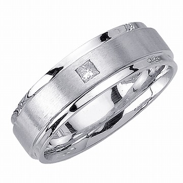 mens white gold wedding rings