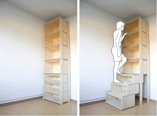 El detalle que hace la diferencia espacios peque - Muebles practicos para espacios pequenos ...