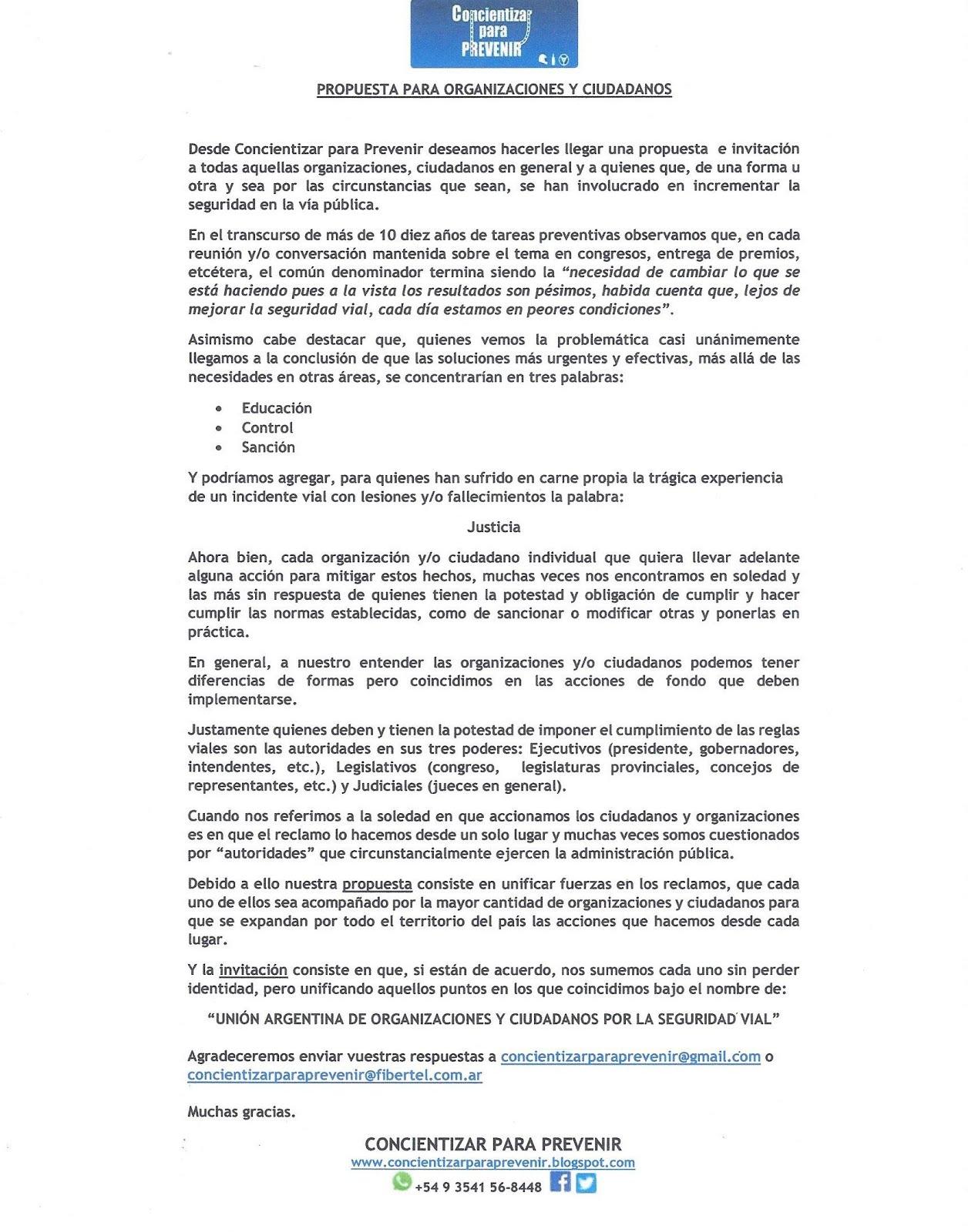 PROPUESTA E INVITACIÓN 12.04.2019