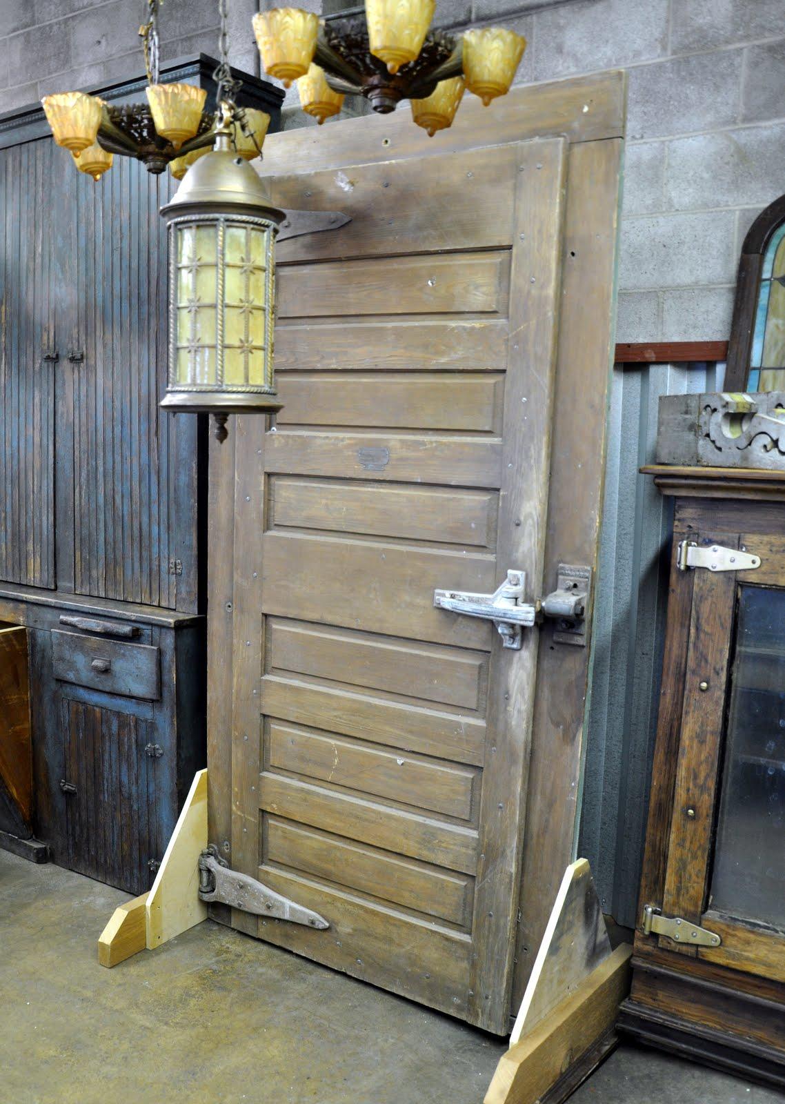 Jamison Ice House Door - Oklahoma Barn Market: Jamison Ice House Door