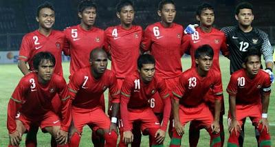 Inilah Susunan Timnas Indonesia U-22 Kualifikasi Piala Asia 5 Juli 2012