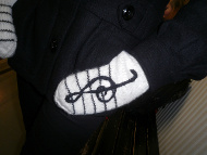 Clef Mittens