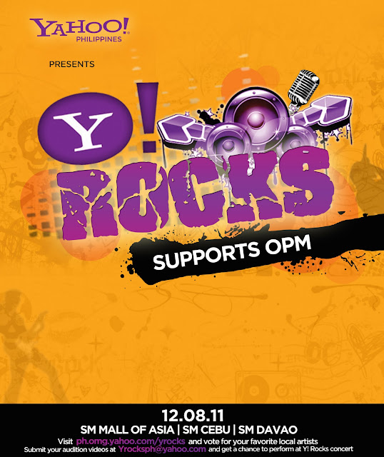 YRocks Concerts December 8th Various Locations In The Philippines