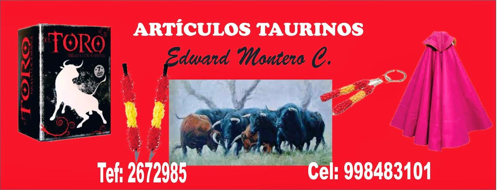 ARTÍCULOS TAURINOS