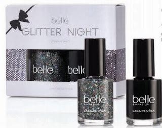pack esmaltes de uñas Glitter night