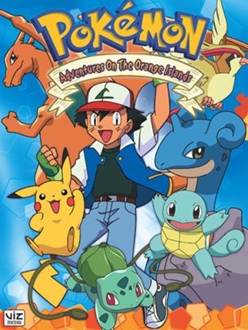 Lista de Capitulos de Pokémon - 2da Temporada: Liga Naranja (Audio