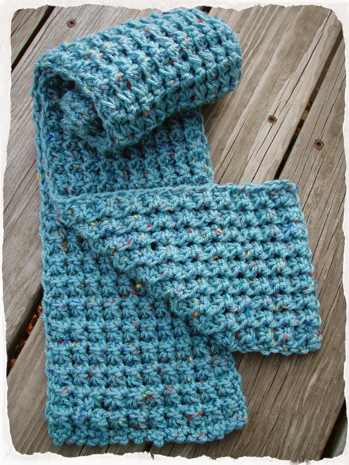 Crochet Patterns Using I Love This Yarn : This Housewife Life: Trinity Stitch Scarf ~ FREE PATTERN