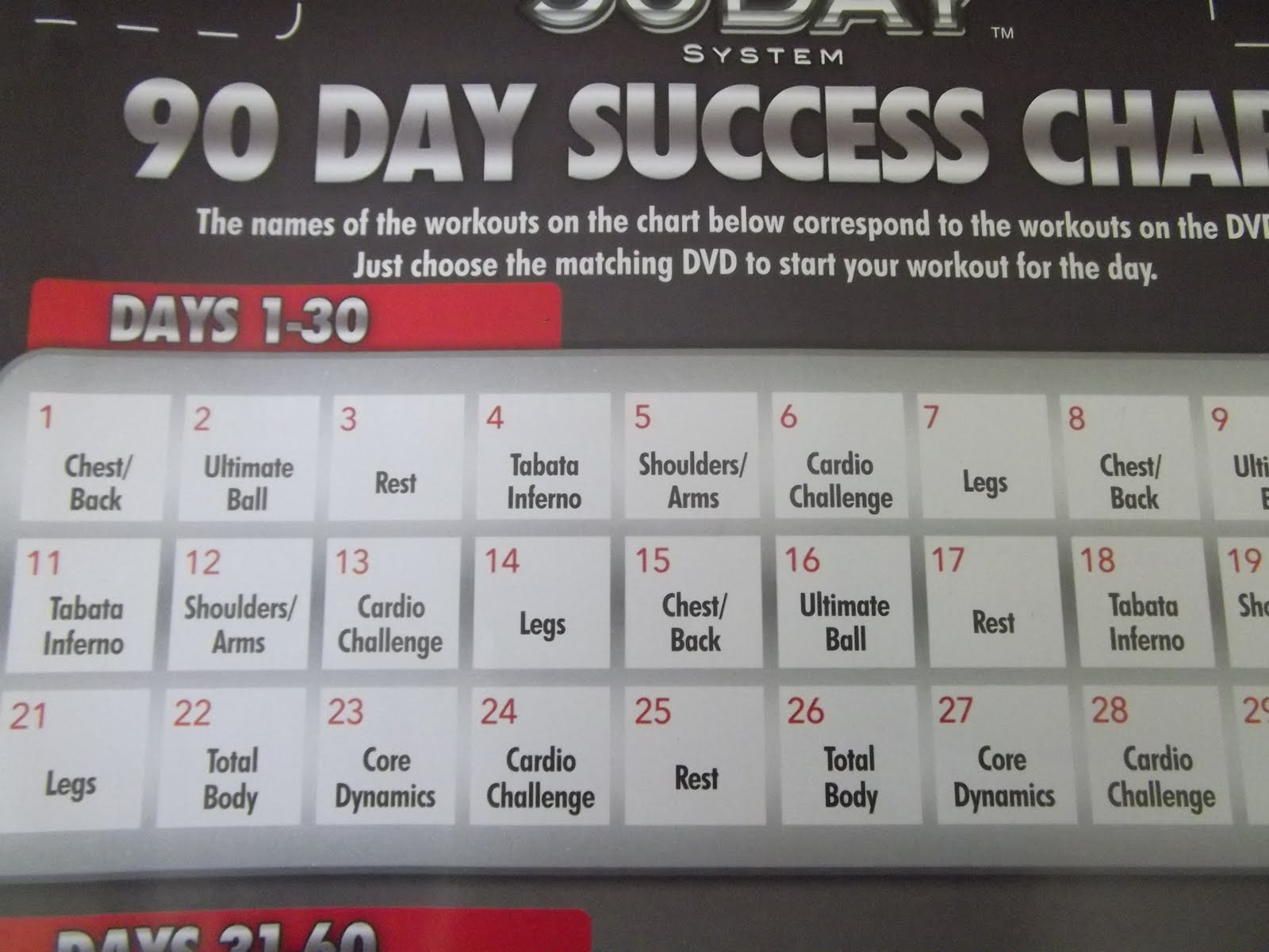 Have you tried supreme 90 day system p90x or insanity did you have