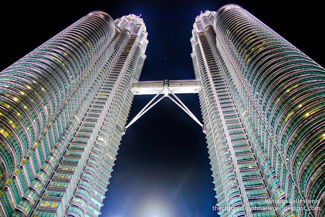 Petronas Twin Towers night