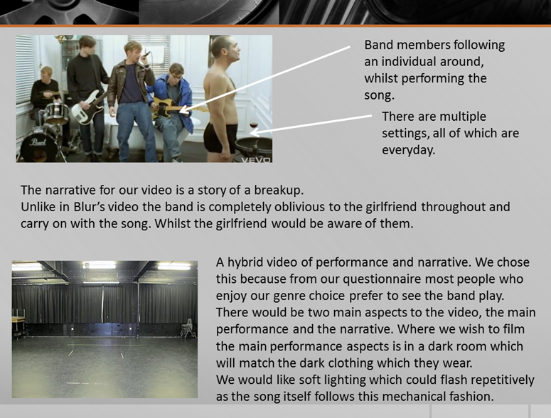 a2 music coursework For our a2 media coursework we had the choice of either creating a television soap or a music video our group decided to make a rock music video that would emulate.