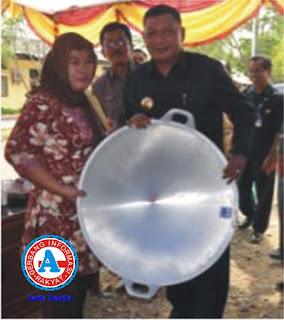 Disnakertrans Kabupaten Bima Salurkan Bantuan Senilai Rp.569,6 juta