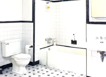 Black and White Bathroom Decor | Best Home Design, Room Design