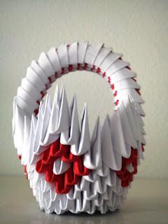 Cesta de origami