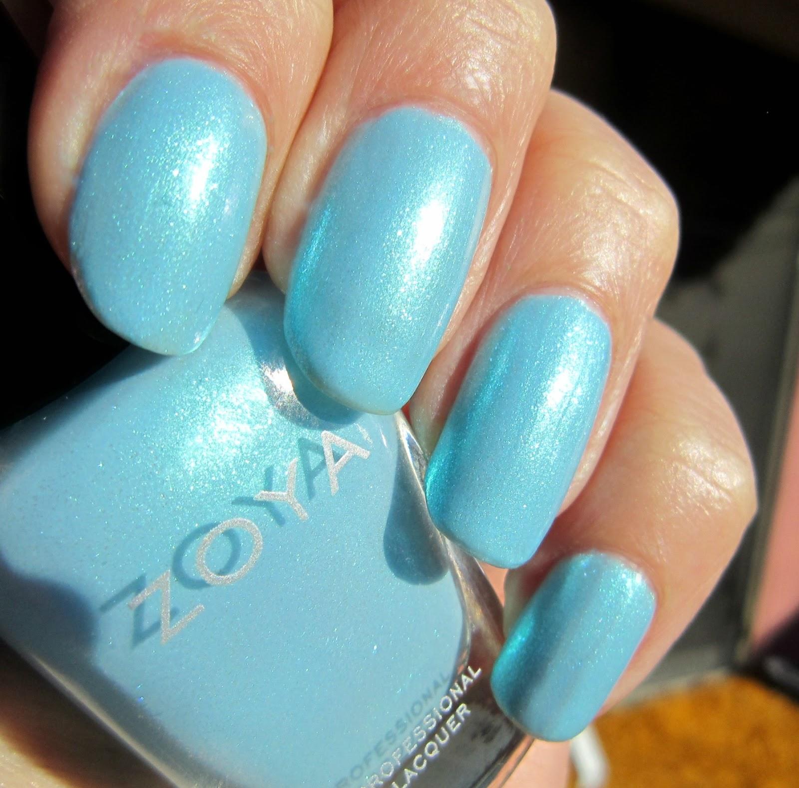 Concrete And Nail Polish: Zoya Rayne