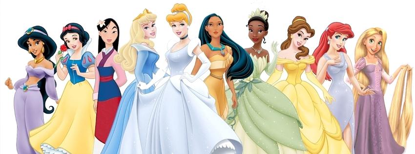 Ten Disney Princess Fb Cover Ocean