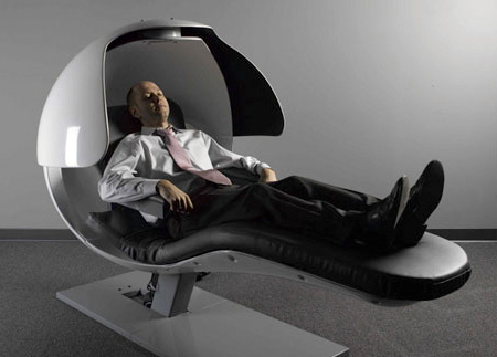 Innovative sleeping chair