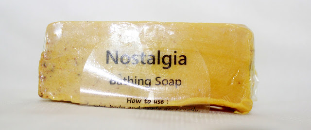 SaND for Soapaholics- Nostalgia Bathing Soap review