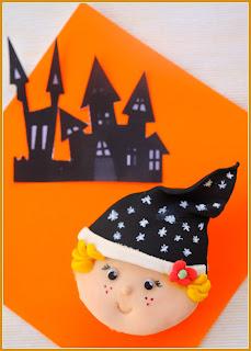 Halloween: Tutorial para hacer cupcakes de brujita.