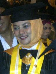 Marissa Haque & Ikang Fawzi dari FEB UGM & FH UGM, Yogyakarta