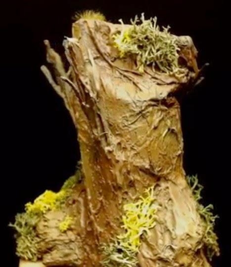Cómo construir troncos de árbol