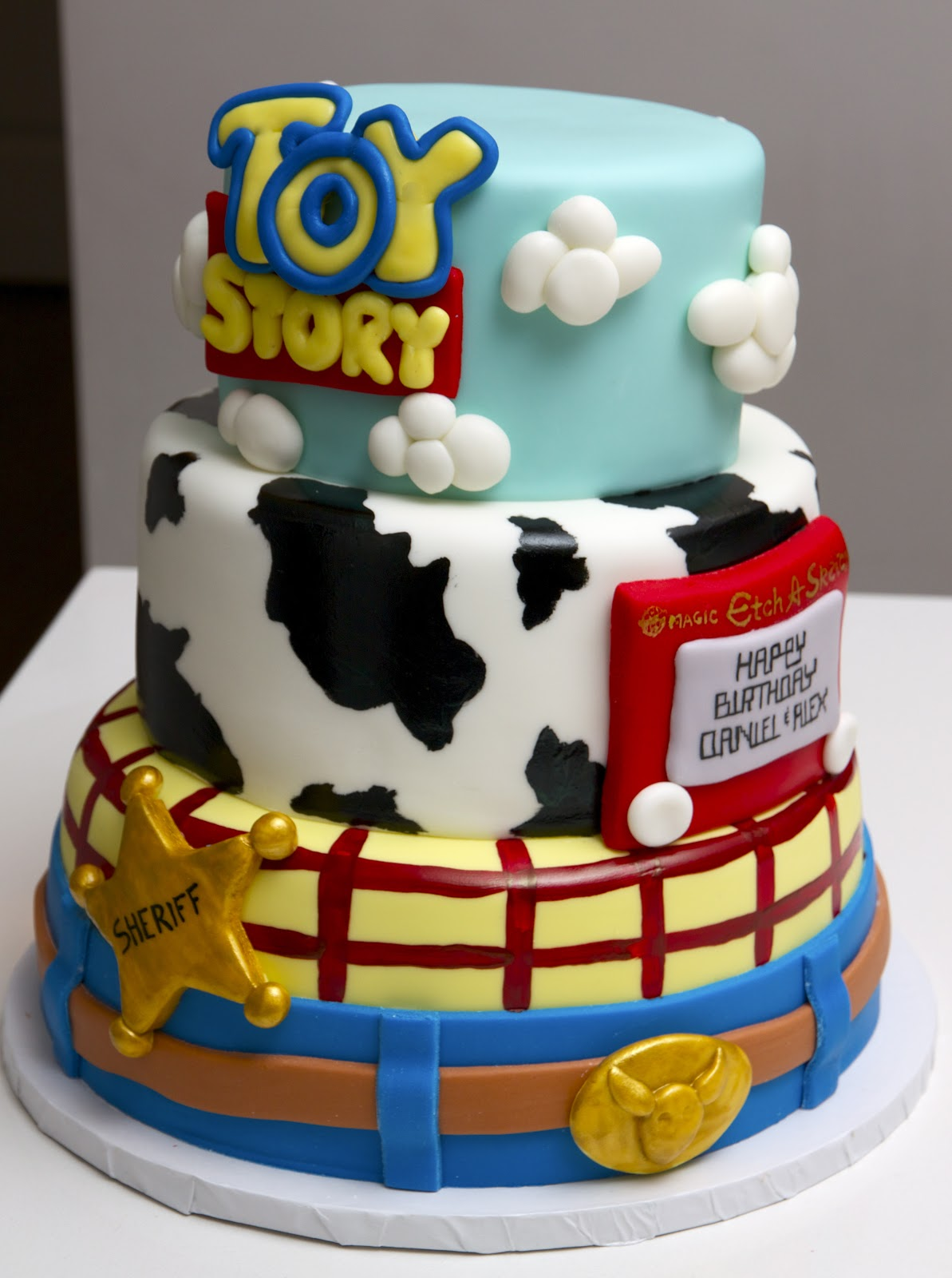 Love Your Cake Toy Story Cake
