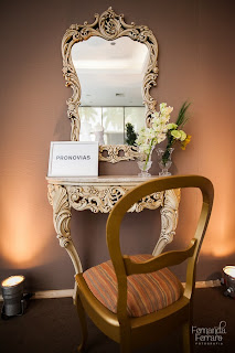 console, espelho, cadeira , decoração, exposição, encontro noivas rio de janeiro