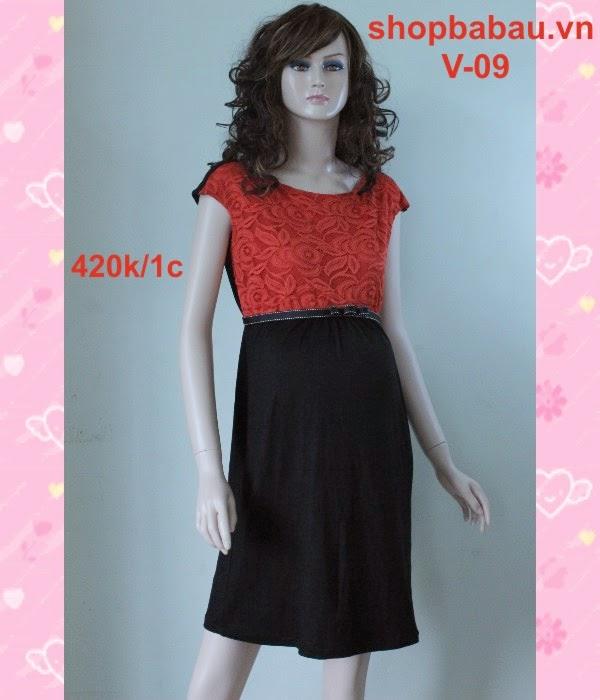 Váy bầu mùa hè V-09