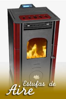 Estufas y calderas de pellets madera de pinares biomasa - Calderas de pellets y lena ...