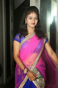 Young actress Jaya Harika in half saree-thumbnail-20