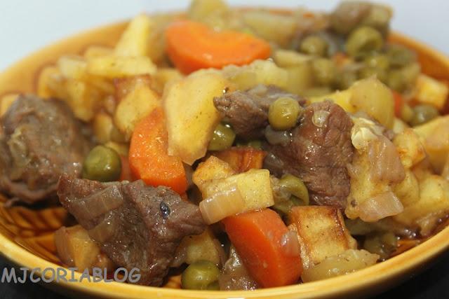 Mjcoriablog menestra de verdura con ternera - Como preparar menestra de verduras ...