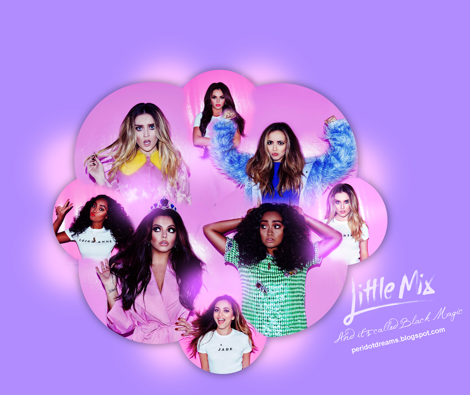 Peridot Dreams// Version 4 - Little Mix: Black Magic