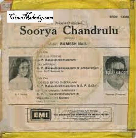Surya Chandrulu 1978