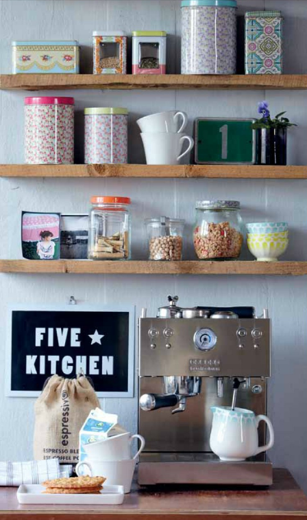 A Lot Of The Kitchen Are Seriously Lacking In Storage Space. So You Might  Have To Make Your U0027storageu0027 Visible, And I Suggest Doing So Like They Did  Above, ...