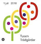 Tusen trädgårdar 1/7 2018