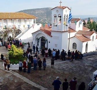 Με λαμπρότητα  ο εορτασμός των Αγ. Αναργύρων στο ομώνυμο μοναστήρι στην Ερμιόνη ...