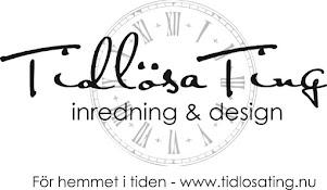 Tidlösa Ting - En trevlig webbbutik