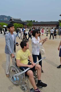 Allan White, Terry, Sophie Seoul, Korea