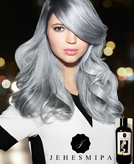 Cabello SILVER con Keratina Black Matiz !!