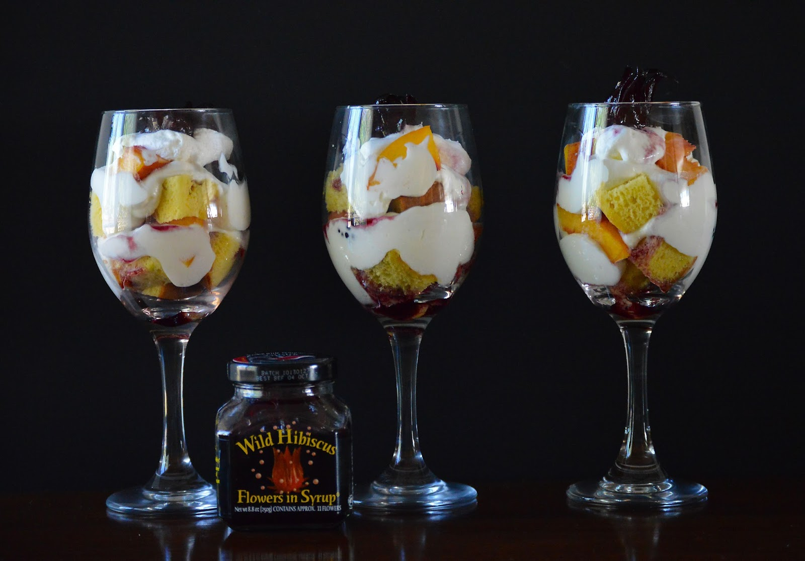 37 Cooks White Chocolate Wild Hibiscus Syrup Trifles