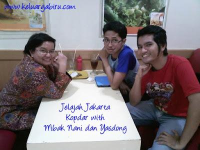 Kopdar with Mbak Nani dan Yasdong