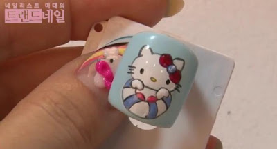 Cute Kitty nail