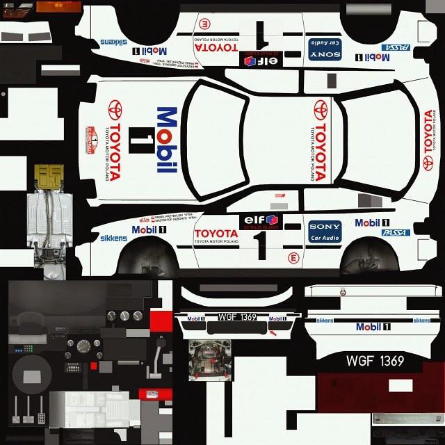 Toyota Celica Coupe 1600 Gt: RBR+: Toyota Celica GT-4 Przybylski