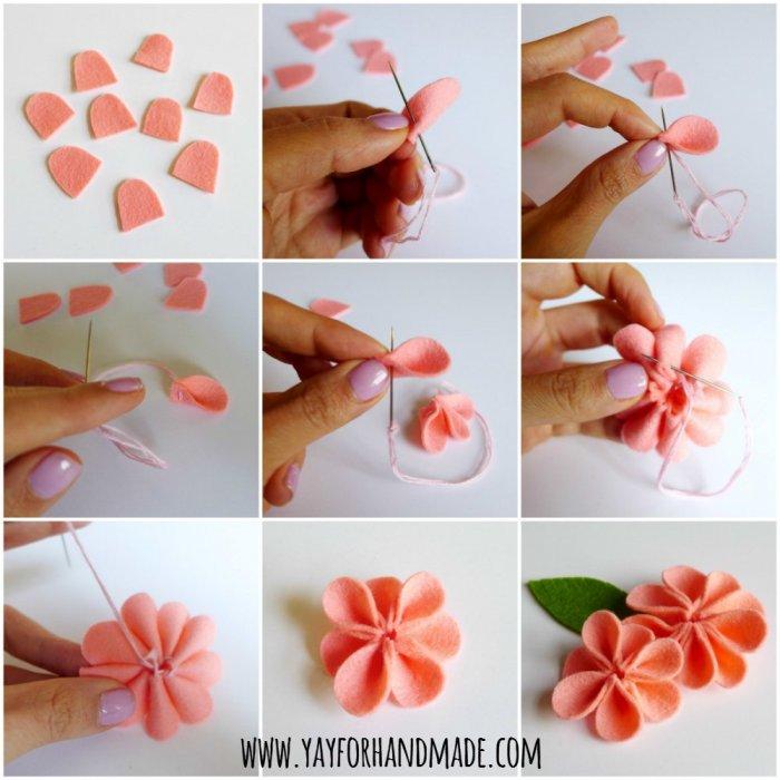 Сделать цветочка своими руками