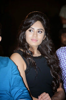 Actress Deepa Sannidhi  Pictures in Short Dress at Enakkul Oruvan Audio Launch 14.jpg