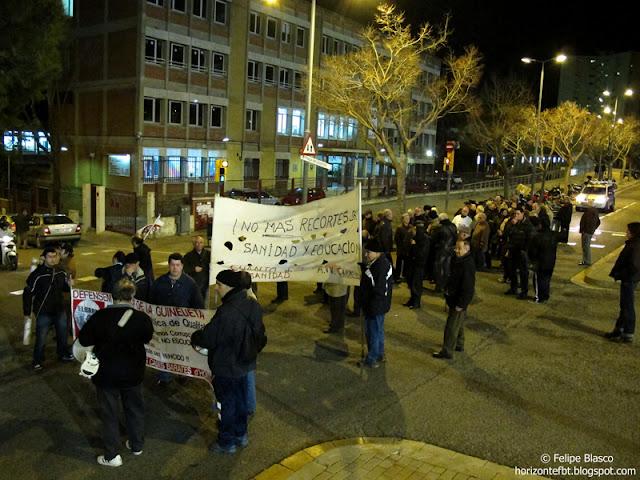Protesta por las urgencias nocturnas del CAP Guineueta