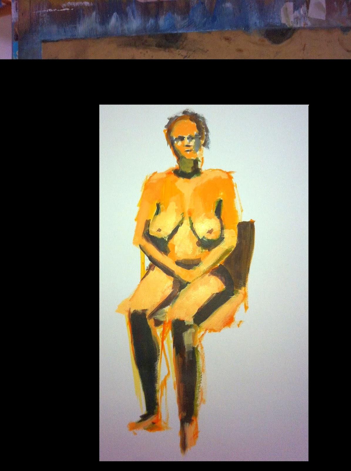 figure painting, ocad