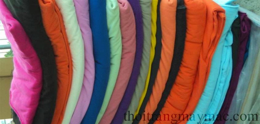 thu mua vải cotton màu