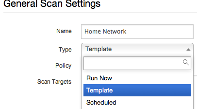 after you select template click on the drop down for policy make sure you select the policy you just created