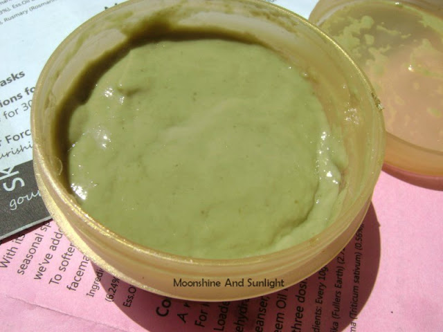 Sand for Soapaholics HAIR FORCE hair mask review